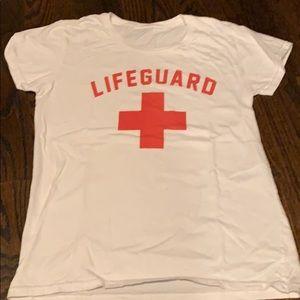 Lifeguard Tshirt - Womrns small - worn once